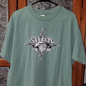Sturgis 2010 Graphic Tee S/S XL Green